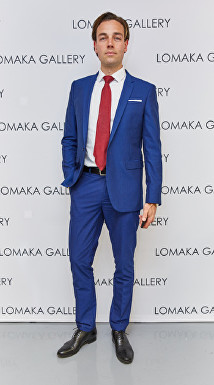 David Gigauri at Olga Lomaka Gallery Launch