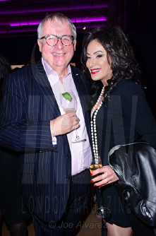 "Chris Biggins at the Jackie Collins ""A Life In Chapters"" private view at Bonhams © Joe Alvarez"
