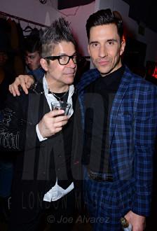 Joe Alvarez and Russell Kane Lash Unlimited party © Joe Alvarez