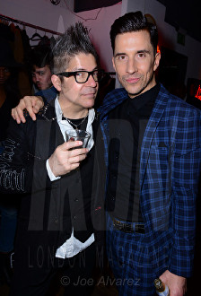 Joe Alvarez and Russell Kane Lash Unlimited party © Joe Alvarez