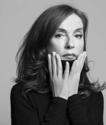 Isabelle Hupert to be awarded Kering Women in Motion Award at Cannes Film Festival 2017 © Brigitte Lacombe