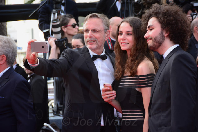 Salfies on the red carpet Cannes Film festival 2017 © Joe Alvarez