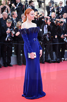 Barbara Meier The Meyerowitz film premiere Cannes Film Festival © Joe Alvarez