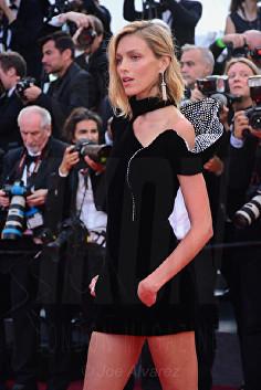Anja Rubik The Meyerowitz film premiere Cannes Film Festival © Joe Alvarez