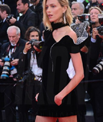 Anja Rubik The Meyerowitz film premiere Cannes Film Festival © Joe Alvarez