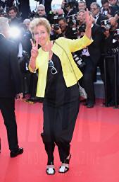 Emma Thompson The Meyerowitz Stories premiere Cannes Film Festival © Joe Alvarez