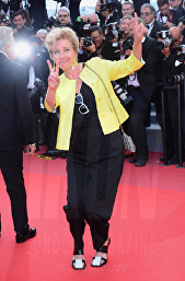 Emma Thompson The Meyerowitz Stories premiere Cannes Film Festival © Joe Alvarez