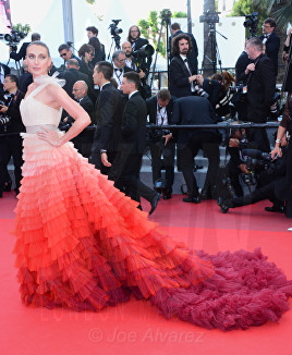 Anna Schafer The Meyerowitz film premiere Cannes Film Festival © Joe Alvarez