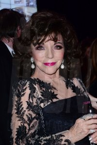 Dame Joan Collins at the Jackie Collins