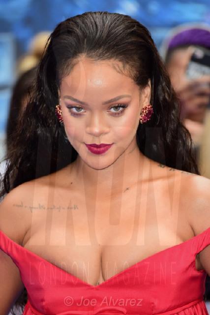 Rihanna Valerian and The City of a Thousand Planets Premiere © Joe Alvarez