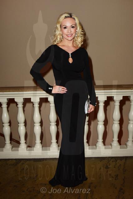 Kristina Rihanoff at Dot Com Dionne Warwick Event © Joe Alvarez