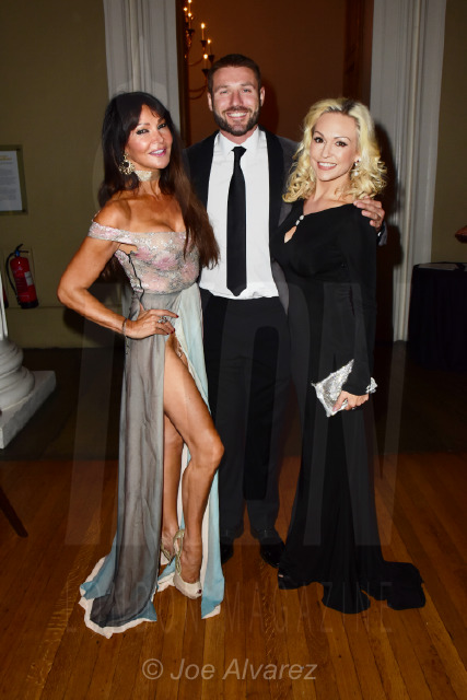 Kristina Rihanoff and Ben Cohen at Dot Com Dionne Warwick Event © Joe Alvarez