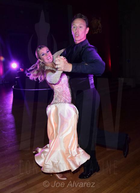 Erin Boag and Ian Waite Dot Com Charity Gala © Joe Alvarez