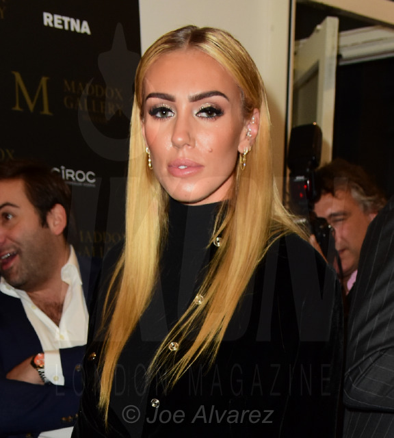 Petra Ecclestone at the RETNA Maddox Gallery Private View © Joe Alvarez