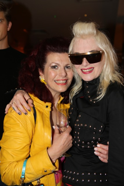 Cleo Roco and Pam Hogg Cantina Laredo Launch Party