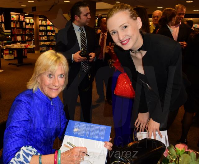 Tamara Orlova-Alvarez at Princess Olga Romanov's book launch © Joe Alvarez