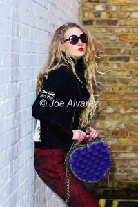 Tamara Orlova-Alvarez Phomaz Handbags Ikon Apparel photo shoot © Joe Alvarez
