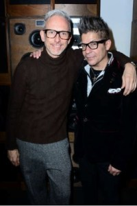 Patrick Cox and Joe Alvarez at the AW16 Lathbridge Footwear Collection Party © Joe Alvarez