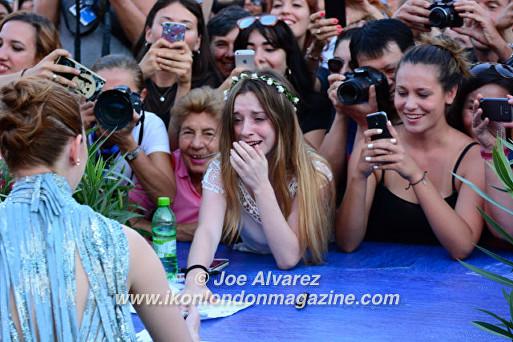 Emma Stone at the La La Land World Premiere in Venice Film Festival © Joe Alvarez