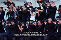 Red Carpet Photographers La La Land premiere at the Venice Film Festival © Joe Alvarez
