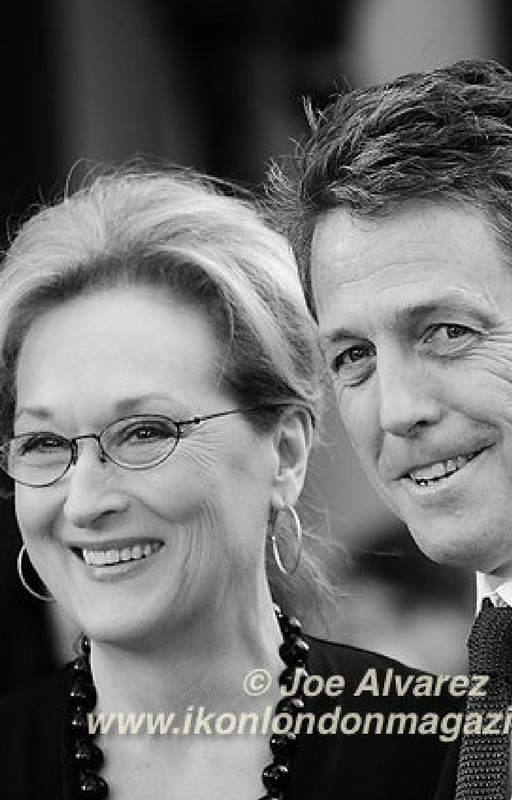Merryl Streep and Hugh Grant Photo Credit: Joe Alvarez