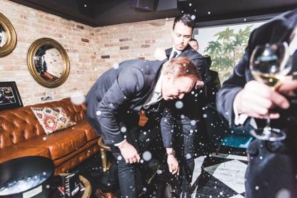 Carbon Champagne Launch UK