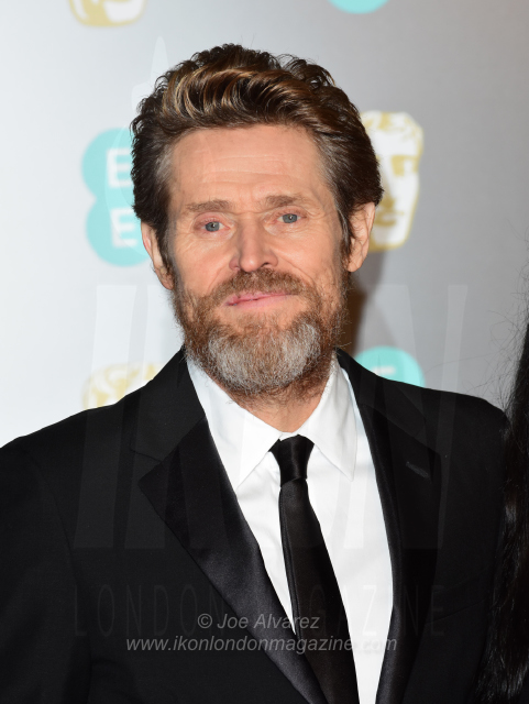 Willem Dafoe The BAFTAS arrivals © Joe Alvarez 13921