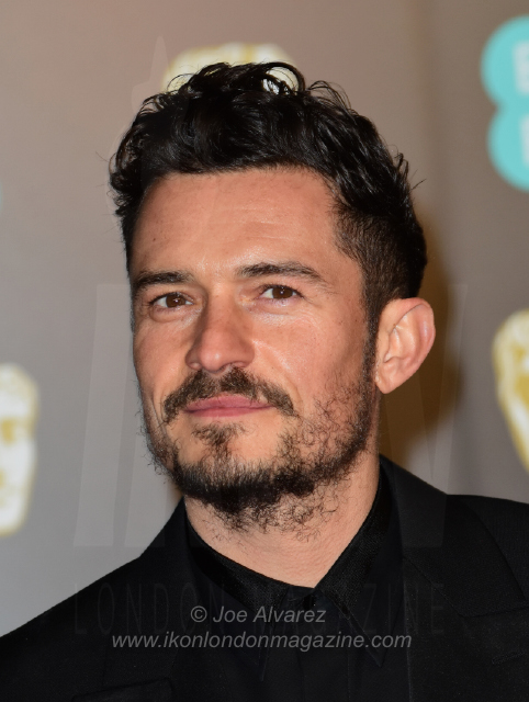 Orlando Bloom The BAFTAS arrivals © Joe Alvarez 13921