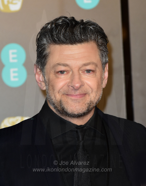 Andy Serkis of Cambridge and Prince William EE BAFTAS 2018 © Joe Alvarez