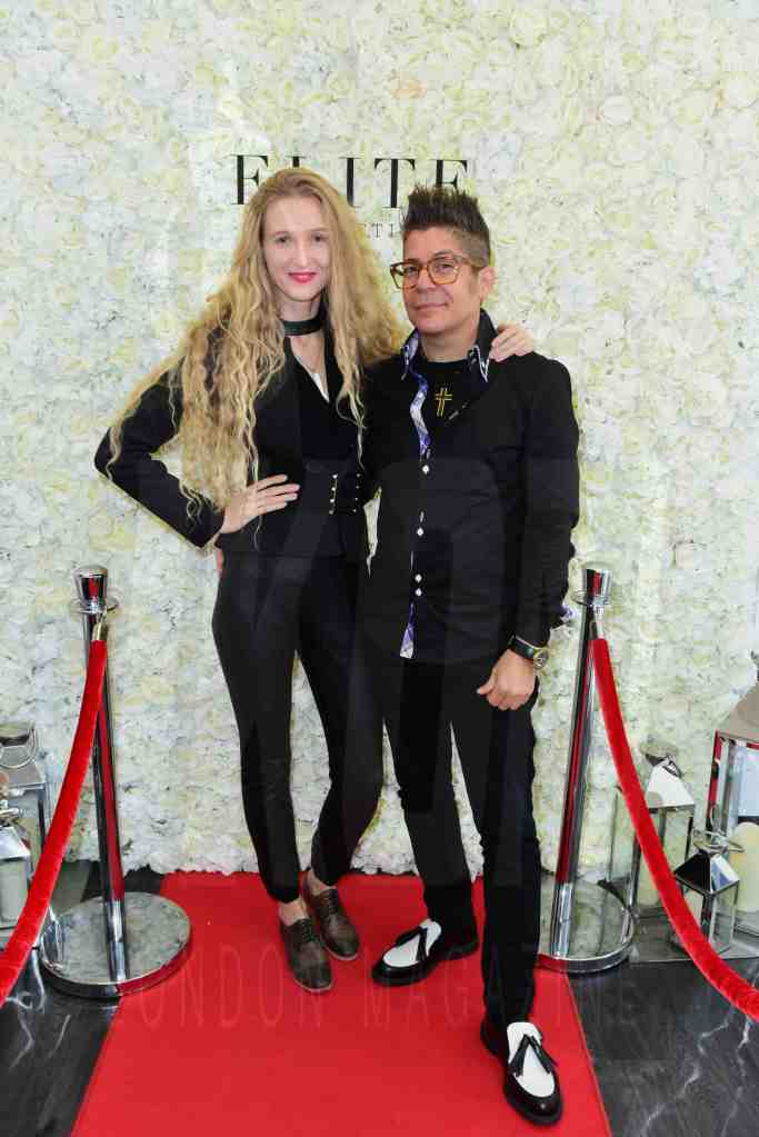 Joe Alvarez, Tamara Orlova-Alvarez at the Elite Aesthetics party © JOE ALVAREZ