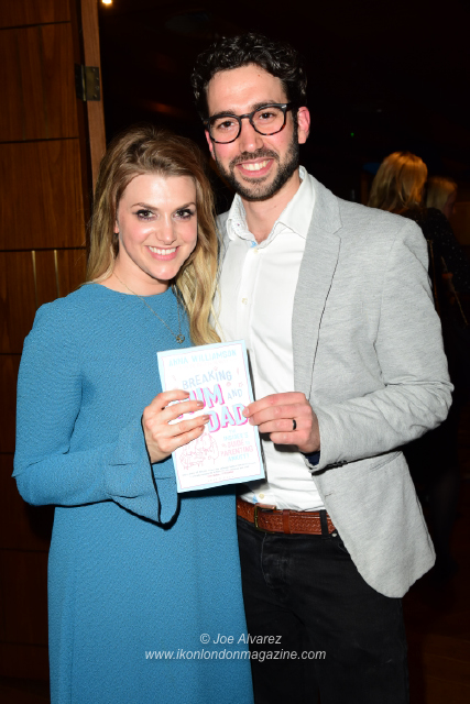 Alex Di Pasquale Anna Williamson book Breaking Mum and Dad launch © Joe Alvarez 14486