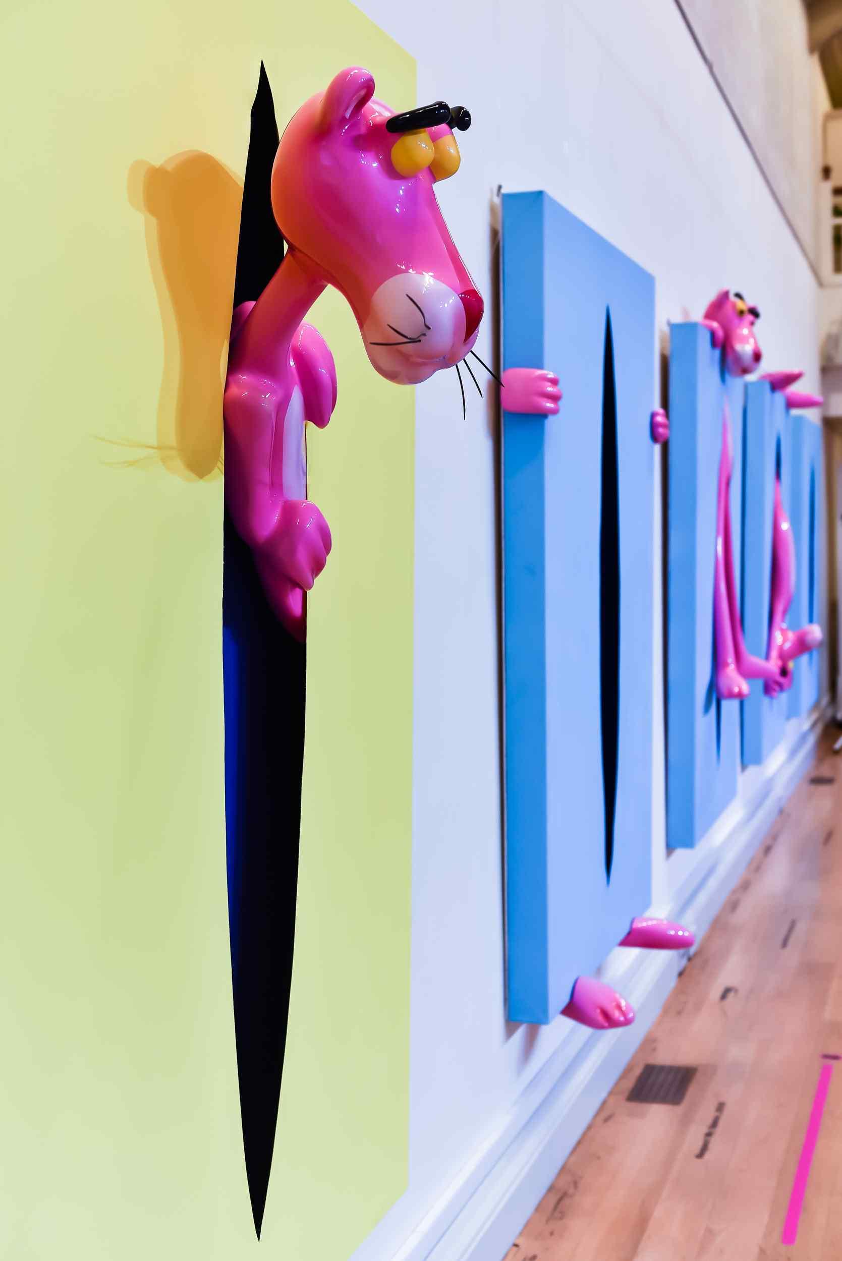 Olga Lomaka Pink Magic artwork
