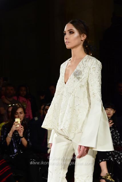 Rohmir AW18 Fashion Show London Fashion Week © Joe Alvarez