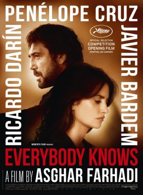 Everybody Knows starring Javier Bardem, Penelope Cruz Cannes Film Festival Opening Night
