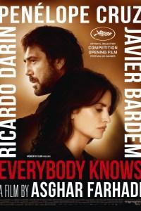Cannes Film Festival 2018 Opening Film Everybody Knows starring Javier Bardem, Penelope Cruz