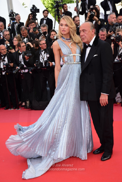 Romee Skijd, Fawaz Gruosi Cannes Film Festival Everybody Knows Todos Lo Saben © Joe Alvarez