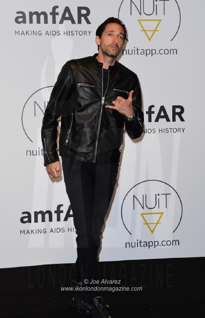 Adrien Brody NUIT pre-amfAR party Cannes © Joe Alvarez 16580