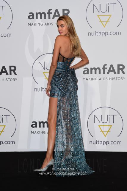 Alina Baikova NUIT pre-amfAR party Cannes © Joe Alvarez 16580
