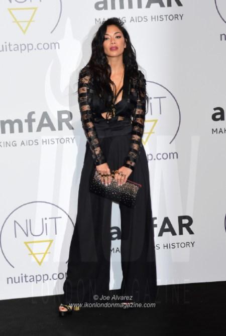 Nicole Scherzinger NUIT pre-amfAR party Cannes © Joe Alvarez 16580