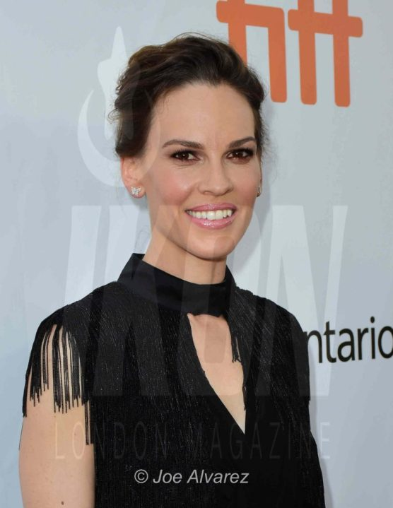 Hilary Swank IKON What they Had Toronto premiere © Joe Alvarez