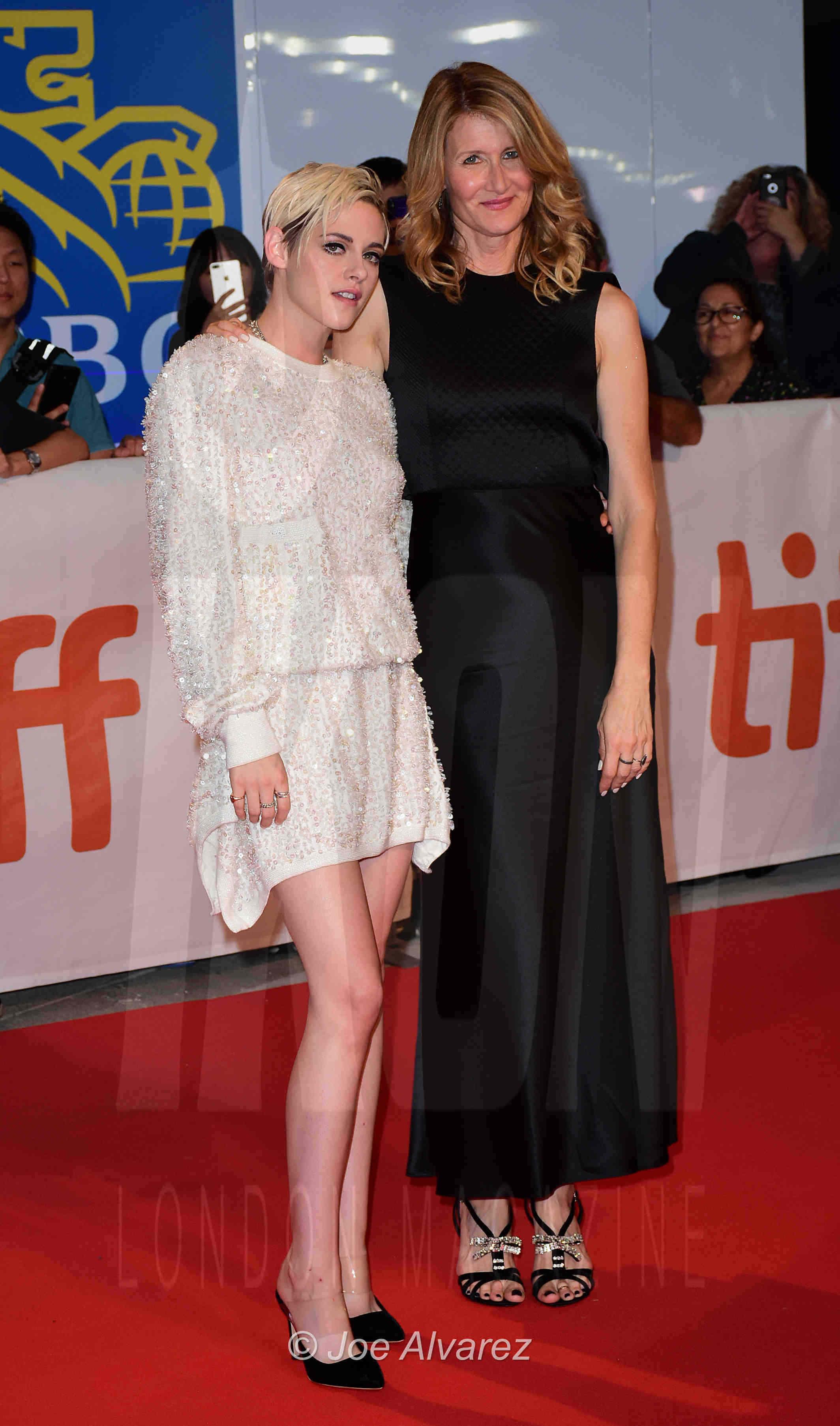 Kristen Stewart, Laura Dern Jeremiah Terminator LeRoy Toronto premiere © Joe Alvarez
