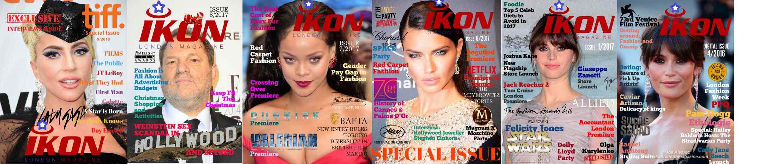 Ikon London Digital Magazine issues