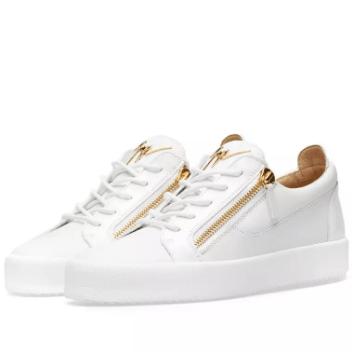 Giuseppe Zanotti – Double Zip Low Sneaker