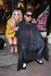 Hair in The Chair Emma Lehane and Joe Alvarez