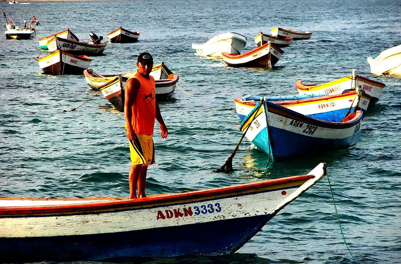 Caribbean fishermen