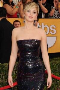 Jennifer Lawrence at SAG Awards 2014