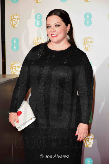 Melissa McCarthy (Nominated for best leading actress) EE British Academy Film Awards 2019 © Joe Alvarez