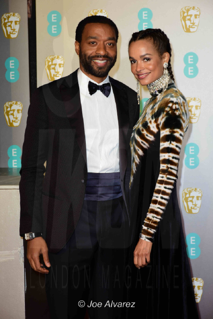 Chiwetel Ejiofor and Frances Aaternir EE British Academy Film Awards 2019 © Joe Alvarez