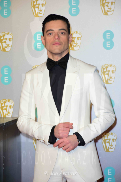 Rami Malek EE British Academy Film Awards 2019 © Joe Alvarez