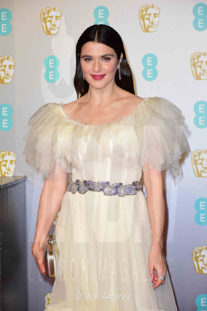 Rachel Weisz The Favourite arriving at the BAFTA 2019 Awards © Joe Alvarez